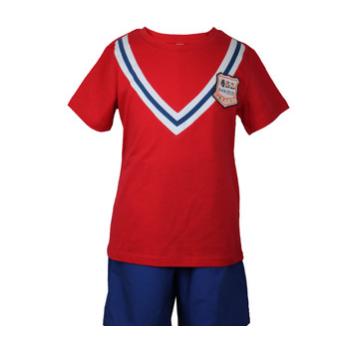 Mayzoo儿童棉休闲夏季运动套装中小学及幼儿园园服中高端制定做