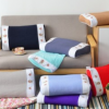 颈椎荞麦枕头保健枕 成人枕头棉枕芯 绣花护颈枕两面可睡定制