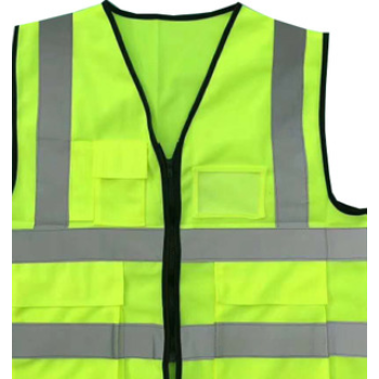 反光背心批发定制印字荧光绿安全防护工地高亮马甲多口袋反光衣