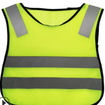 反光背心厂家定制logo夜间荧光儿童学生道路安全防护衣服反光马甲