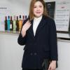 94#大码女装2019胖mm冬装胖妹妹200斤时尚韩版毛呢大衣外套招代理