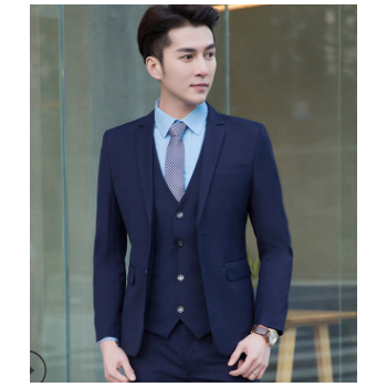 厂家直销 2019新款职业套装男女同款 商务正装休闲西服套装可定制