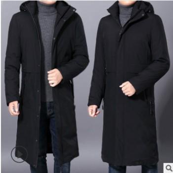 一件代发上海新欧裳现货厂家批发分销2019秋冬外套中年男保暖棉衣