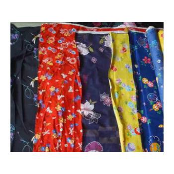 批发供应服装用布平纹50D*50D日本和服时装面料