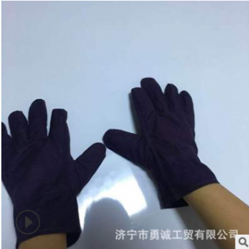 帆布手套 耐磨防滑防护手套 劳保手套 单层手套 厂家直销