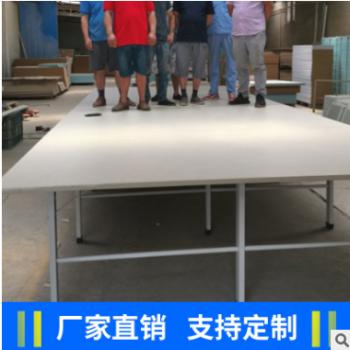 厂家定制服装布料裁剪台 高品质可装卸面料裁床流水工作台 裁床台
