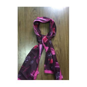 2019新款数码东风纱围巾 真丝全棉人棉色丁羊毛材质可选定制