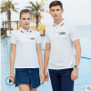 韩版高端短袖polo广告衫定制款翻领夏季新款休闲男士T恤logo天津