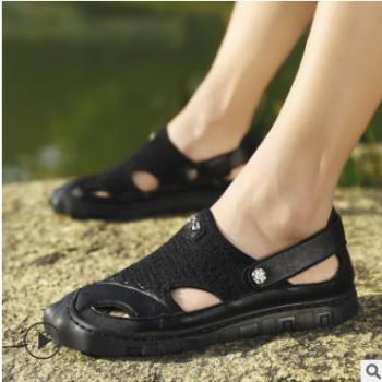 沙滩凉鞋男2020夏新款男凉鞋男男士透气休闲鞋潮流跨境大码男鞋