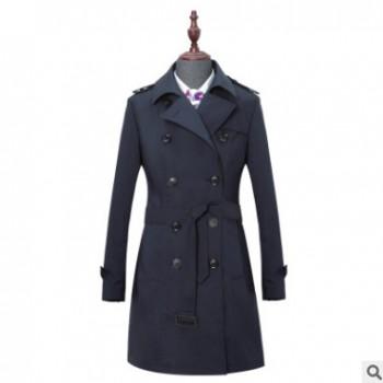 2019女士中长款风衣挺括舒适面料TF100253厂家直销代发批发重庆