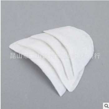 厂家供应西装垫肩 各规格棉垫肩 西装大衣垫肩 服装辅料