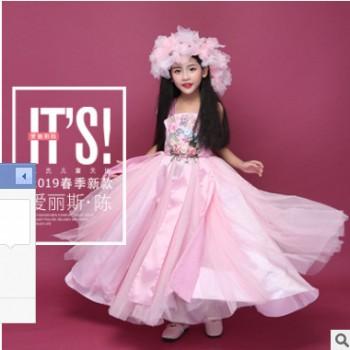 儿童摄影服装公主裙舞台走秀欧式大童T台影楼拍照主题正版写真服