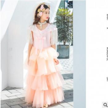 舞台走秀演出服公主裙儿童摄影服装影楼拍照主题爱丽斯陈正版服饰
