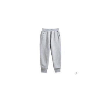 2020春秋装新款儿童长裤运动卫裤大中小童装纯色韩版350克毛圈布