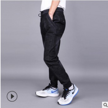 2018新款秋装男士牛仔裤 休闲时尚型男牛仔 爆款牛仔长裤直销批发
