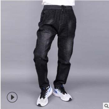 2018新款秋装男士牛仔裤 休闲时尚型男牛仔 爆款牛仔长裤厂家批发