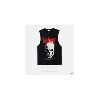 ARTIE男装|春夏重金属Slipknot摇滚做旧欧美嘻哈潮牌街头男式背心
