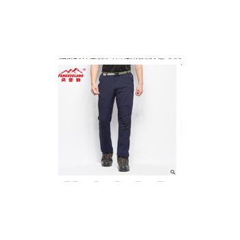 风雪狼春秋单层薄款户外冲锋裤男女防水透气大码登山裤长裤运动裤