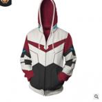 新款 战神金刚 兰斯Voltron 3d印花卫衣 开衫连帽衫 cosplay动漫