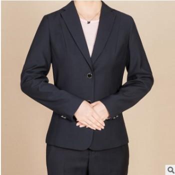 工作服套装女士西服休闲商务装修身女士西服工厂直销价格优惠