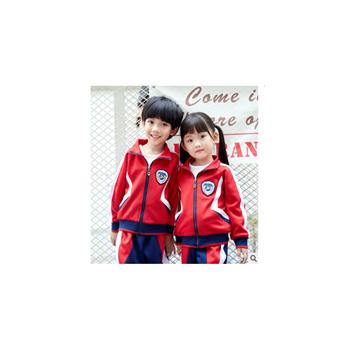 中小学生校服幼儿园园服男女班服春秋季运动套装儿童校服定做新款