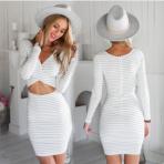 跨境2018欧美亚马逊eBay爆款女装连衣裙春夏季挂肩v领修身连衣裙