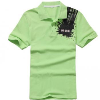 翻领polo衫男广告衣服文化衫t恤定制logo工作服定做短袖工衣印字