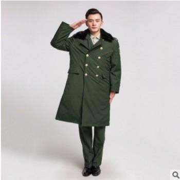 2016常服大衣军绿色大衣防寒耐磨迷彩大衣军迷用品大衣加厚