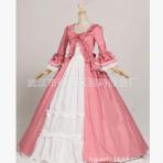 2019新款 lolita维多利亚哥特式连衣长裙 棉料 颜色可选