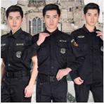 作训服套装长袖黑色保安特勤安保服装秋冬季防静电劳保工作服制服