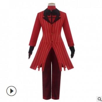 甜哒哒地狱客栈的阿拉斯托恶魔女主播cos服现货万圣节COSPLAY服装