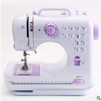 505A电动缝纫机12线迹多功能缝纫机。跨境电商,外贸供应商