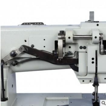厂家热销4420三同步双针厚料机 电动4420三同步皮革缝纫机批发