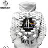 欧美澳洲跨境卫衣 Pink Floyd数码印花圆领抽绳情侣卫衣