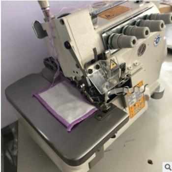 厂家直销 EX高速毛巾包边机 锁边机 三年超长质保