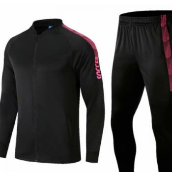新款成年男外套足球服套装 儿童比赛出场运动足球服团购可定制