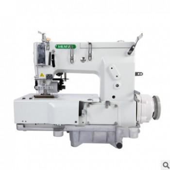 厂方直销森本款14链式多针机 门襟机 拉条机 橡筋机工业缝纫机