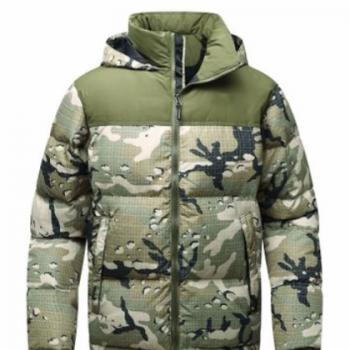 2020冬季新款男士羽绒服迷彩雪山国旗户外防寒保暖宽松羽绒外套