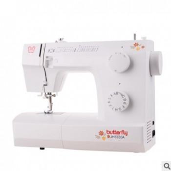 蝴蝶牌JH8330A缝纫机多功能家用电动缝纫机家用吃厚批发正品包邮