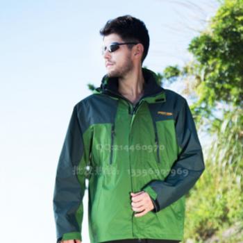男士冲锋衣2018新品厂家直供 户外防水男款登山运动防水服两件套