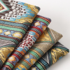 厂家货源 中国民族风色织提花布 涤棉台布装饰布色织面料提花
