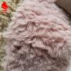 大羊驼面料 阿尔巴卡羊驼绒 人造毛皮卷曲绒 雪冰花羊剪绒 羊卷绒