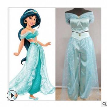 阿拉丁神灯cos 公主茉莉cos服成人儿童cosplay动漫服装女装现货