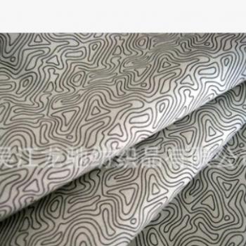 300T/380T尼丝纺格子中透彩膜透气透湿,贴膜复合尼丝纺面料
