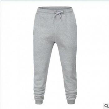 ebay新款男士运动裤外贸爆款男士长裤子针织运动裤男收口
