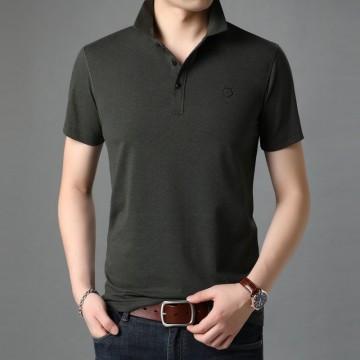 佐驰马夏季新品男式Polo修身T恤韩版时尚休闲男士短袖t恤上衣