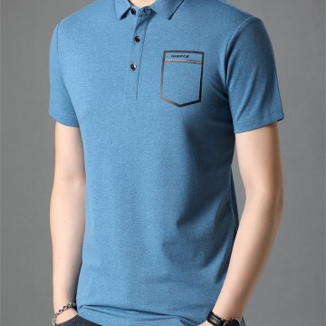 佐驰马夏季新品男式修身T恤韩版时尚休闲男士短袖t恤男装上衣