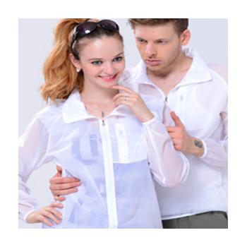 户外情侣皮肤衣春款 男女长袖皮肤风衣 超薄防紫外线防晒衣