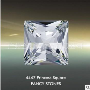 施华洛世奇元素4447方形首饰石异形水钻一包起批