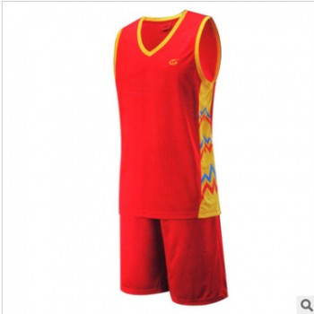 2017新款 篮球服套装运动服 专业印制 单层透气 团购定制